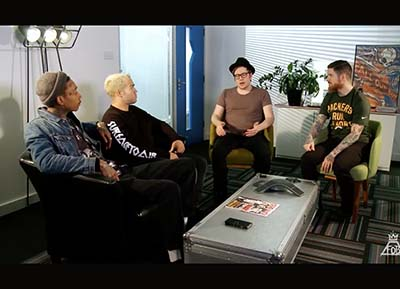 Behind The Scenes - Fall Out Boy